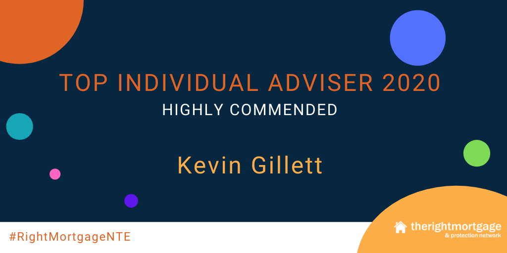 Social post for Top Individual Adviser Highly Commended - Kevin Gillett